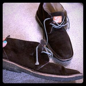 Men's COACH Anthony Leather Chukka Boots 10